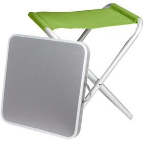 Brunner Hoggy Set Tabletop & Stool green/grey